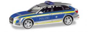 herpa 095501 Audi A4 Avant Polizei Ingolst | Blaulichtmodell 1:87 kaufen