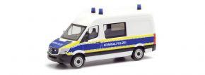 herpa 095563 MB Sprinter 13 Halbbus Kriminalpolizei | Blaulichtmodell 1:87 kaufen