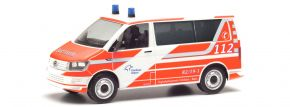 herpa 095617 VW T6 Bus Flughafenfeuerwehr Fraport Blaulichtmodell 1:87 kaufen