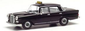 herpa 095686 Mercedes-Benz 200 W110 Heckflosse Taxi schwarz Automodell 1:87 kaufen