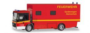 herpa 095723 Mercedes-Benz Econic KofferLKW Feuerwehr Gerätewagen Atemschutz Blaulichtmodell 1:87 kaufen