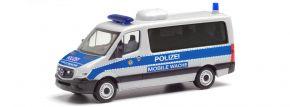 herpa 095747 Mercedes-Benz Sprinter 2013 Bus FD Polizei Berlin Mobile Wache Blaulichtmodell 1:87 kaufen