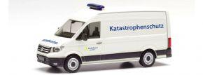herpa 095754 VW Crafter Transporter Katastrophenschutz Aachen Blaulichtmodell 1:87 kaufen