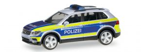 herpa 095808 VW Tiguan Polizei Goslar Blaulichtmodell 1:87 kaufen
