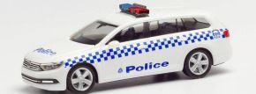 herpa 095815 VW Passat Variant B8 Victoria Police Blaulichtfahrzeug 1:87 kaufen