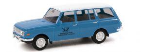 herpa 095822 Wartburg 353 1966 Tourist Deutsche Post Studio Technik Fernsehen Automodell 1:87 kaufen