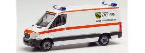 herpa 095839 Mercedes-Benz Sprinter 2013 Transporter FD Freistaat Sachsen Blaulichtmodell 1:87 kaufen