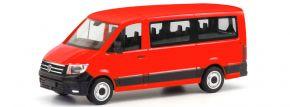 herpa 095846 VW Crafter Bus Flachdach rot Automodell 1:87 kaufen