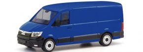 herpa 095853 MAN TGE Kasten Flachdach ultramarinblau Automodell 1:87 kaufen