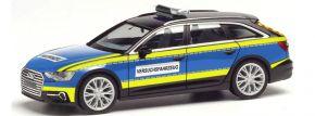 herpa 095860 Audi A6 Avant C8 Polizei Versuchsfahrzeug Blaulichtmodell 1:87 kaufen