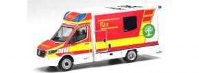 herpa 095921 Mercedes-Benz Sprinter 2018 Fahrtec RTW Feuerwehr Bocholt Blaulichtmodell 1:87 kaufen