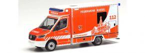 herpa 095945 Mercedes-Benz Sprinter 2018 RTW Feuerwehr Kassel Blaulichtmodell 1:87 kaufen