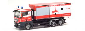 herpa 095952 MAN TGX XLX Wechsellader-LKW Feuerwehr Kassel Umweltschutz Blaulichtmodell 1:87 kaufen