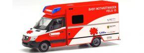 herpa 095983 Mercedes-Benz Sprinter 2013 RTW Baby Notarzt Felix 15 Klinikum Leipzig Blaulichtmodell kaufen