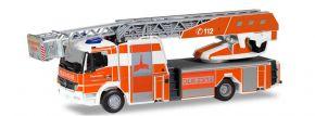 herpa 096119 Mercedes-Benz Atego 2010 Drehleiter Feuerwehr Kassel Blaulichtmodell 1:87 kaufen