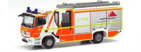 herpa 096126 Mercedes-Benz Atego 2013 Ziegler Z-Cab HLF Feuerwehr Göppingen Blaulichtmodell 1:87 kaufen