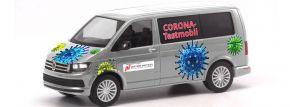 herpa 096133 VW T6 Bus Corona Testmobil Automodell 1:87 kaufen