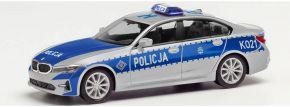 herpa 096249 BMW 3er Limousine G20  Policja Polizei Polen Blaulichtmodell 1:87 kaufen
