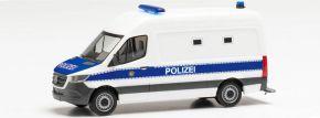 herpa 096492 MB Sprinter '18 Kasten Gefangenentransporter Polizei Berlin | Blaulichtmodell 1:87 kaufen