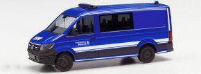 herpa 096577 VW Crafter Halbbus FD THW | Blaulichtmodell 1:87 kaufen