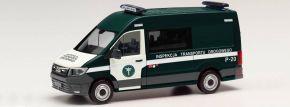 herpa 096607 MAN TGE Bus Inspekcja Transportu Polen | Blaulichtmodell 1:87 kaufen