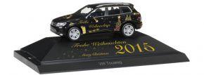 herpa 101950 VW Touareg Weihnachten 2015 | Automodell 1:87 kaufen