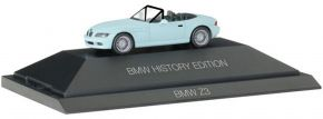 herpa 102032 BMW Z3 Roadster History Edition | Automodell 1:87 kaufen