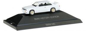 herpa 102049 BMW M3 weiss History Edition | Automodell 1:87 kaufen