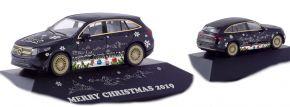 herpa 102155 Mercedes-Benz EQC AMG Herpa Weihnachts-PKW 2019 Automodell Spur H0 kaufen