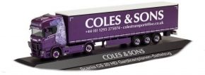 herpa 122108 Scania CS20 HD Gardinenplanensattelzug Coles & Sons Mexicano LKW-Modell 1:87 kaufen