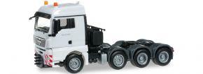 herpa 155397-004 MAN TGX XLX SchwZgm., reinweiß LKW-Modell 1:87 kaufen
