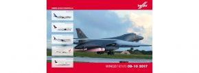 herpa 207836 Prospekt Neueiten Wings September und Oktober 2017 mit Preisen kaufen