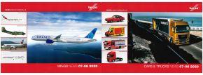 ausverkauft | herpa 209052 Prospekt Neuheiten Cars Trucks Wings Juli August 2020 -gratis- kaufen