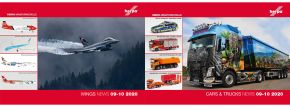 herpa 209069 Prospekt Neuheiten Cars Trucks Wings September Oktober 2020 kaufen