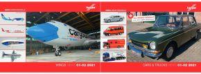 herpa 209113 Neuheitenprospekt Cars and Trucks und WINGS Januar und Februar 2021 kaufen