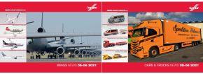herpa 209137 Neuheitenprospekt Car and Trucks und WINGS Mai und Juni 2021 mit Preisen -gratis- kaufen