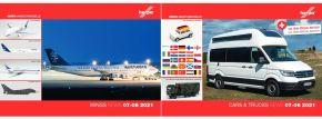 herpa 209236 Neuheitenprospekt  Cars and Trucks und WINGS Juli und August 2021 mit Preisen gratis kaufen