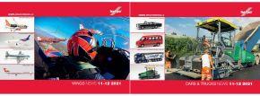 herpa 209250 Neuheitenprospekt Cars and Trucks und WINGS November u Dezember 2021 mit Preisen gratis kaufen