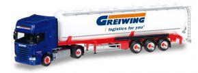 herpa 306195 Scania R13 TL ADR-SiloSzg Greiwing Logistics LKW-Modell 1:87 kaufen
