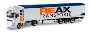 herpa 307260 DAF XF 105  SSC Euro6 Schubbodensattelzug REAX Transporte  LKW-Modell 1:87 kaufen