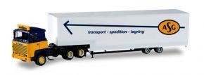 herpa 307321 Scania 141 Jumbokoffersattelzug ASG LKW-Modell 1:87 kaufen