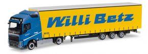 herpa 307352 Volvo FH GL Gardinenplanensattelzug Willi Betz LKW-Modell 1:87 kaufen