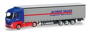 herpa 307499 Mercedes-Benz Actros Streamspace Gardinenplanensattelzug Alfred Talke LKW-Modell 1:87 kaufen