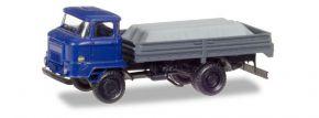 herpa 307628 IFA L60 Pritschen-LKW mit Ladung unter Plane LKW-Modell 1:87 kaufen