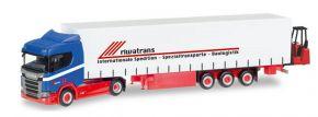 herpa 307895 Scania CR20 ND Gardinenplanensattelzug mit Heckstapler Riwatrans LKW-Modell 1:87 kaufen