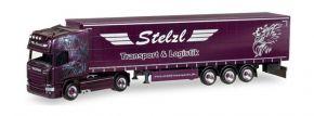 herpa 307987 Scania R 2013 Topline Gardinenplanensattelzug Stelzl Transport und Logistik LKW 1:87 kaufen