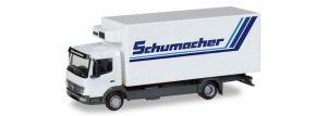 herpa 308540 Mercedes-Benz Atego Kühlkoffer-LKW Spedition Schumacher LKW-Modell 1:87 kaufen