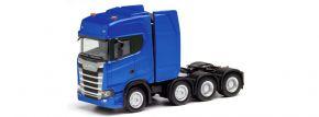 herpa 308601-002 Scania CS20 HD Schwerlastsolozugmaschine 4a ultramarinblau LKW-Modell 1:87 kaufen