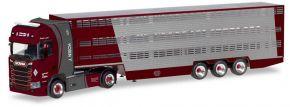 herpa 309264 Scania CS20 HD Viehtransportersattelzug  Nisch LKW-Modell 1:87 kaufen