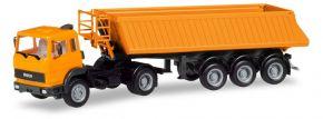 herpa 309356 Iveco Magirus Baukippersattelzug kommunalorange LKW-Modell 1:87 kaufen